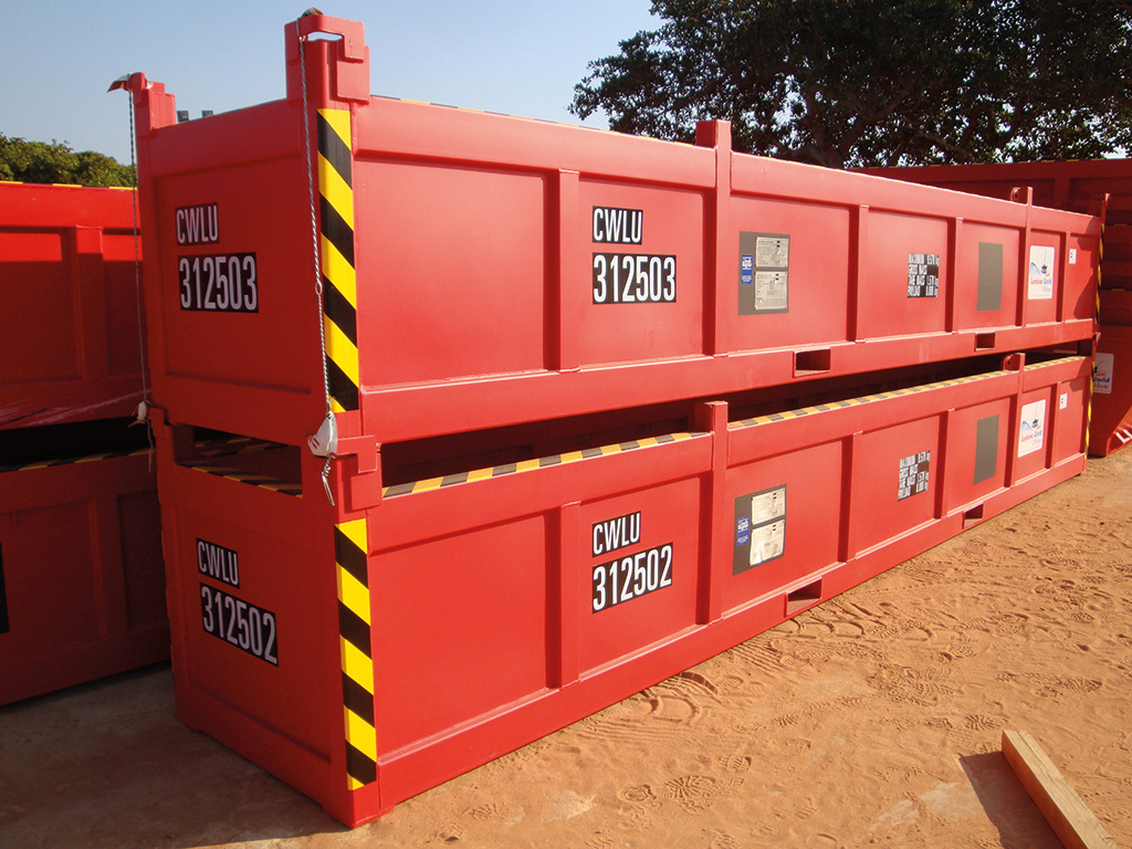 Offshore Amp Converted Containers Es Ko Angola Habitat