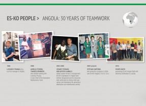 ES-KO in Angola: 30 years of Teamwork